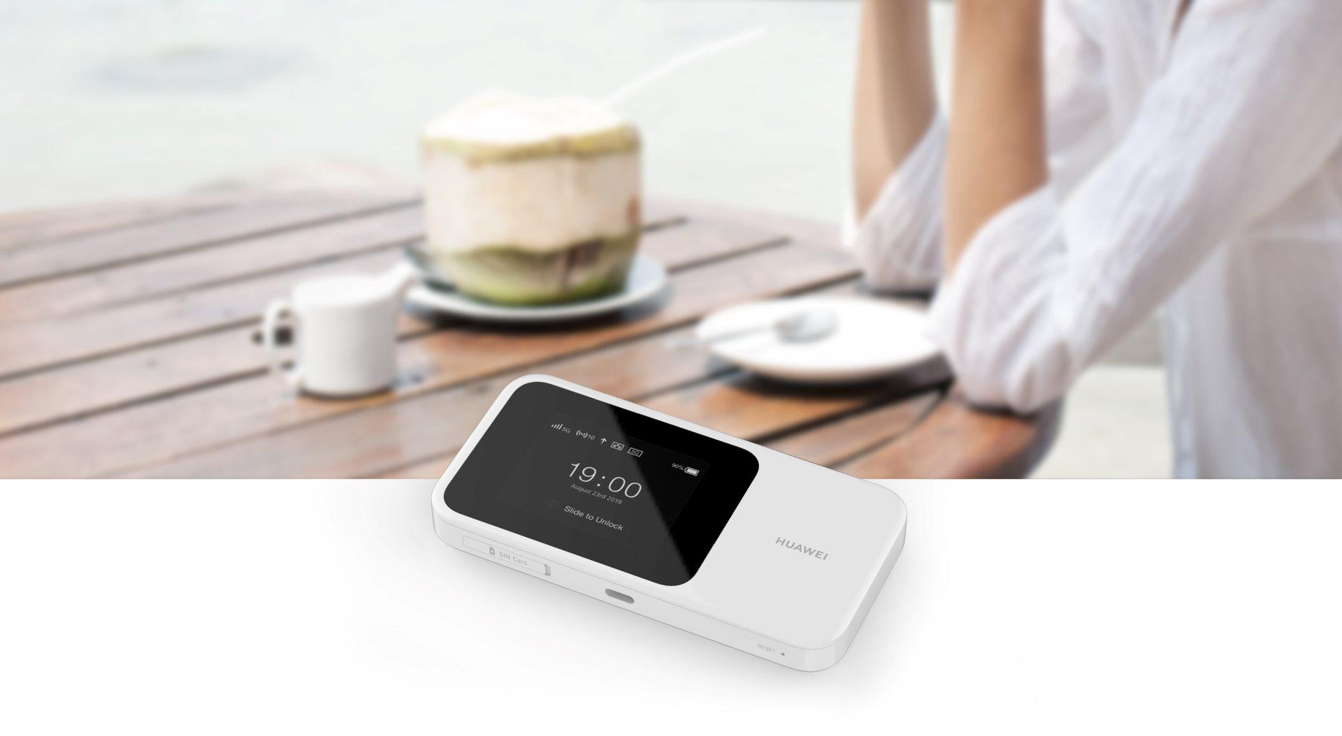 HUAWEI представляет роутер 5G CPE Pro на MWC 2019 - 5G MiFi