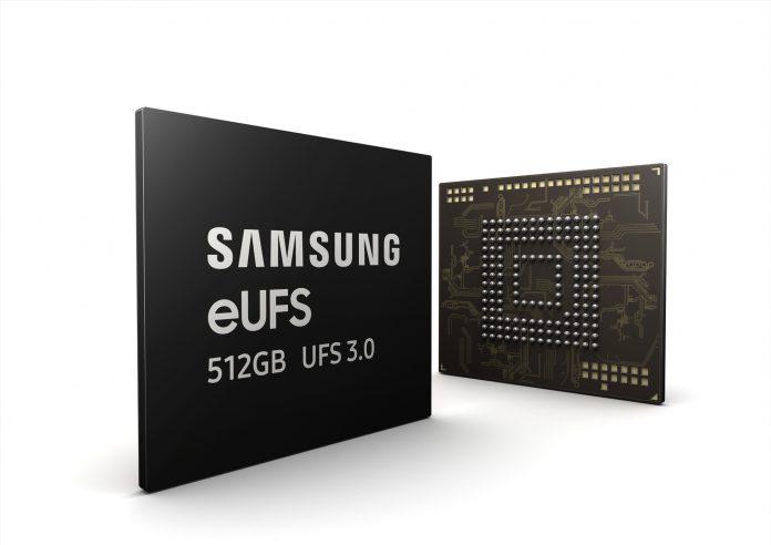 Samsung решил удвоить скорость памяти с помощью eUFS 3.0