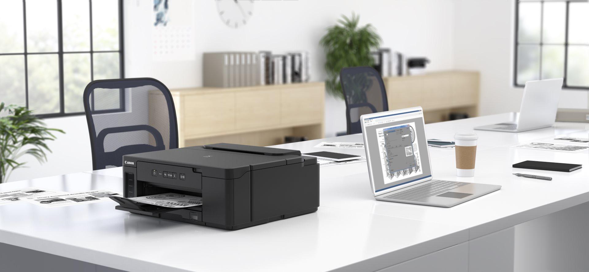 Canon представила новые экономичные принтеры Canon PIXMA G