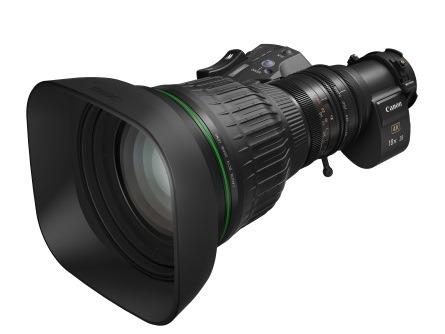 Canon представила новые 4K объективы CJ18ex28B и CJ15ex8.5B