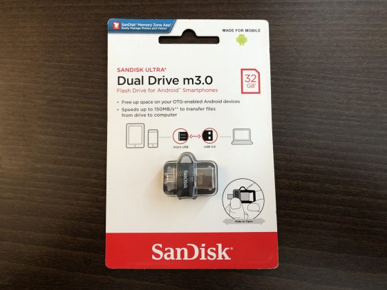 Обзор SanDisk Ultra Dual Drive m3.0 32GB