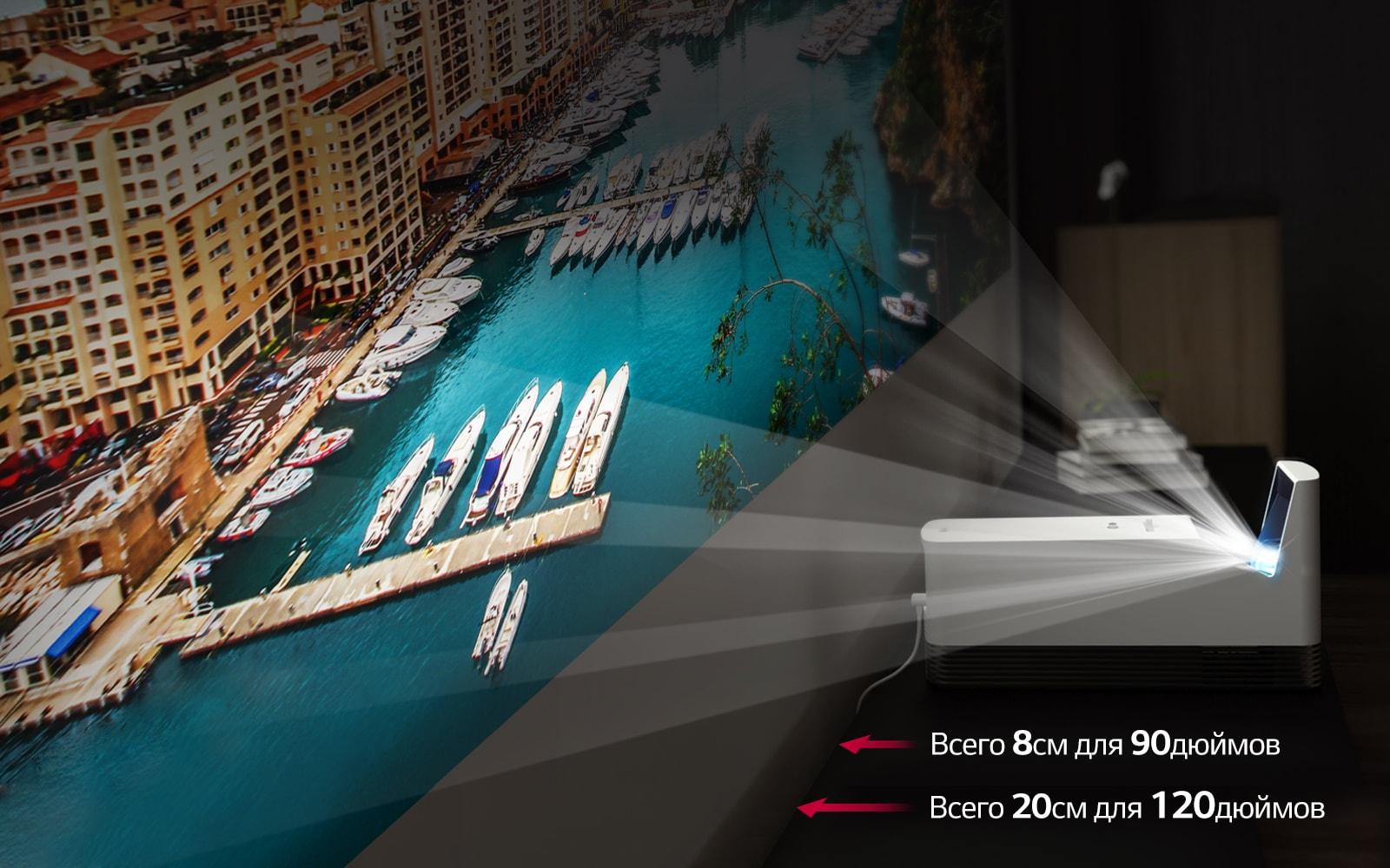 LG представляет лазерные проекторы серии CineBeam: LG HF85LSR и LG HF80LSR