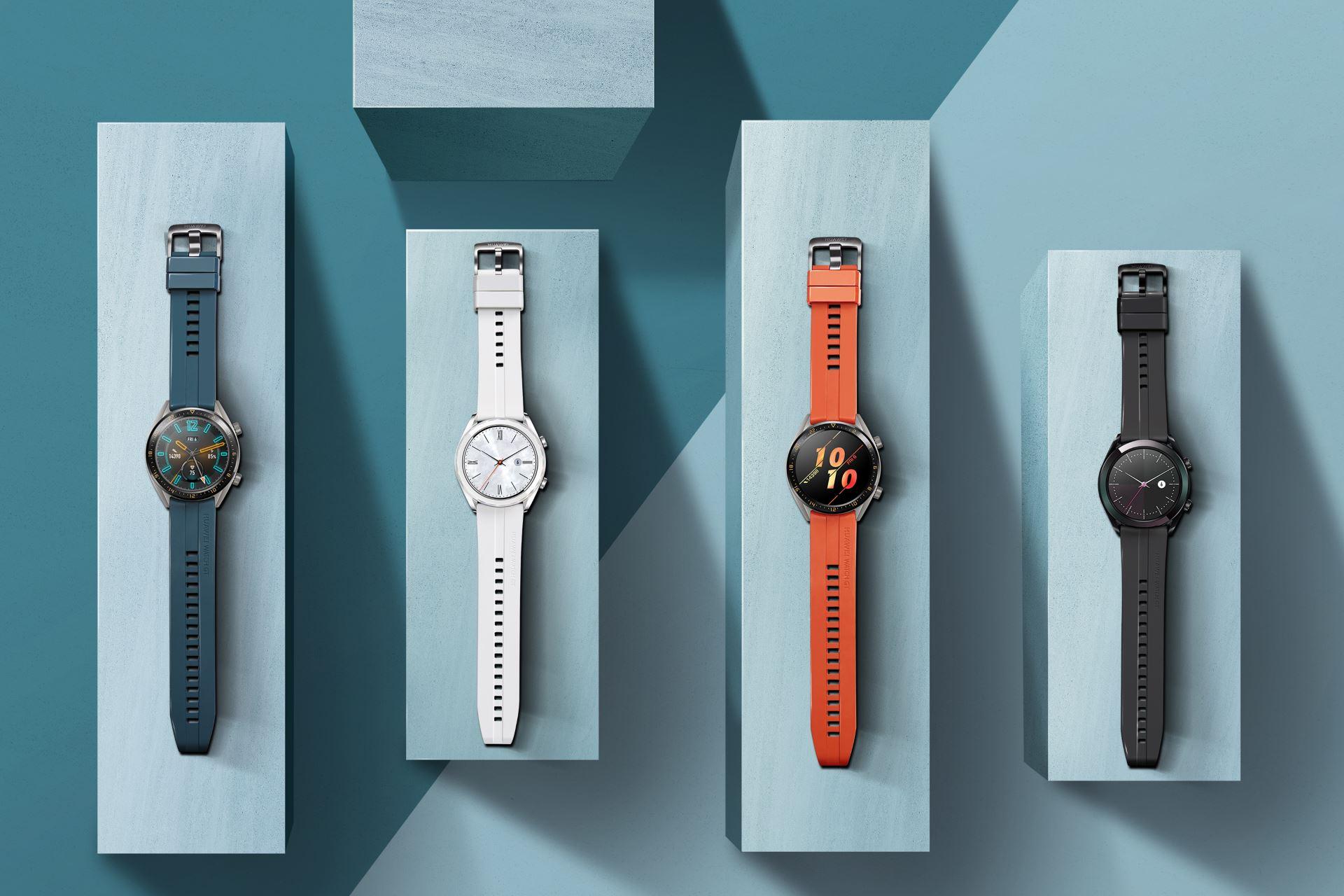 HUAWEI Watch GT Active и Elegant Edition представлены в России