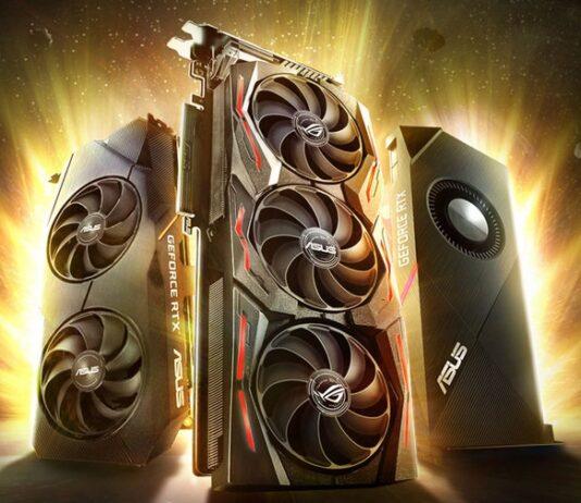 ASUS представила новые видеокарты на базе GeForce RTX SUPER