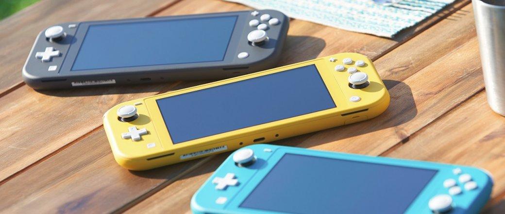 Nintendo представила бюджетную консоль Switch Lite