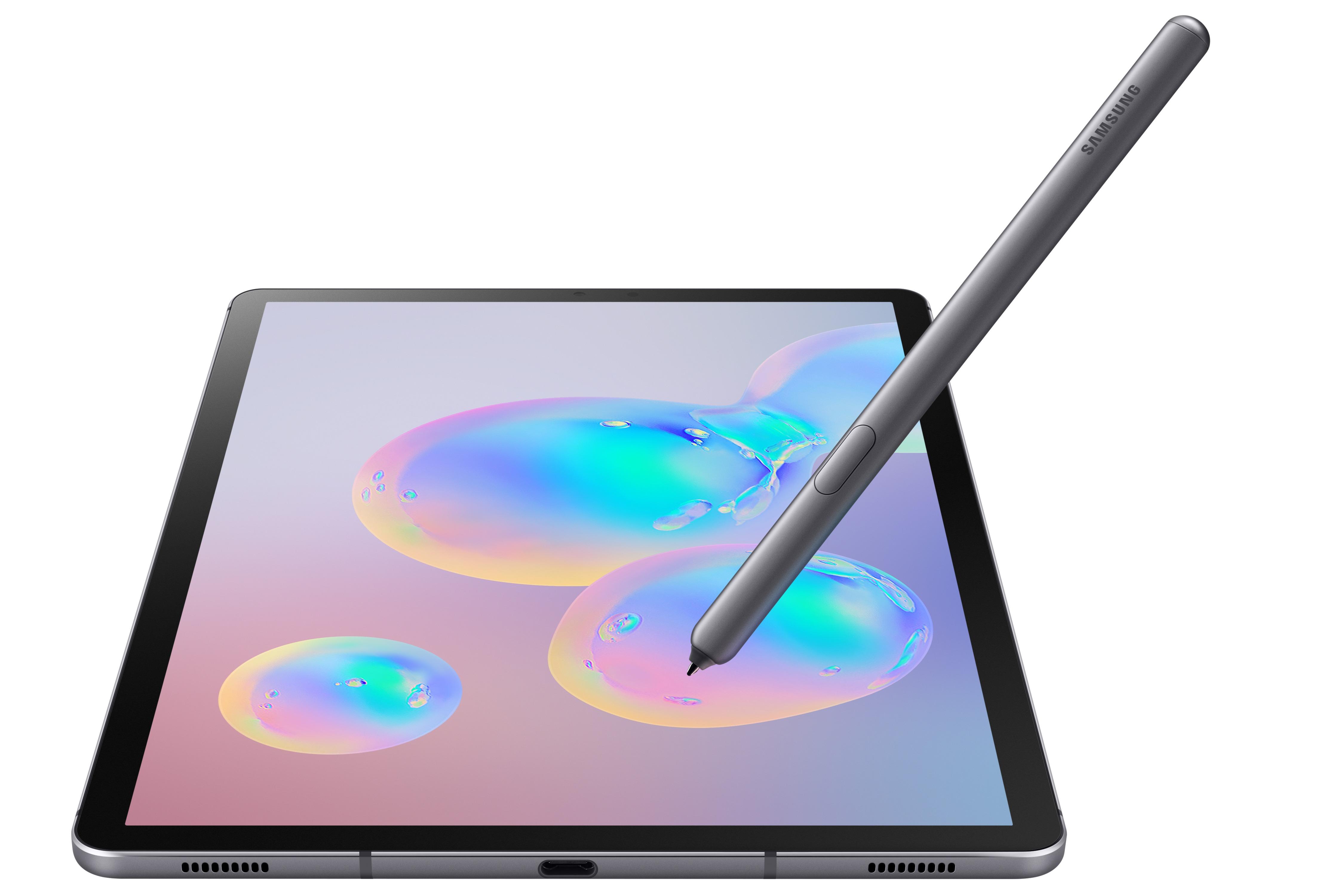 Samsung представила планшет Galaxy Tab S6