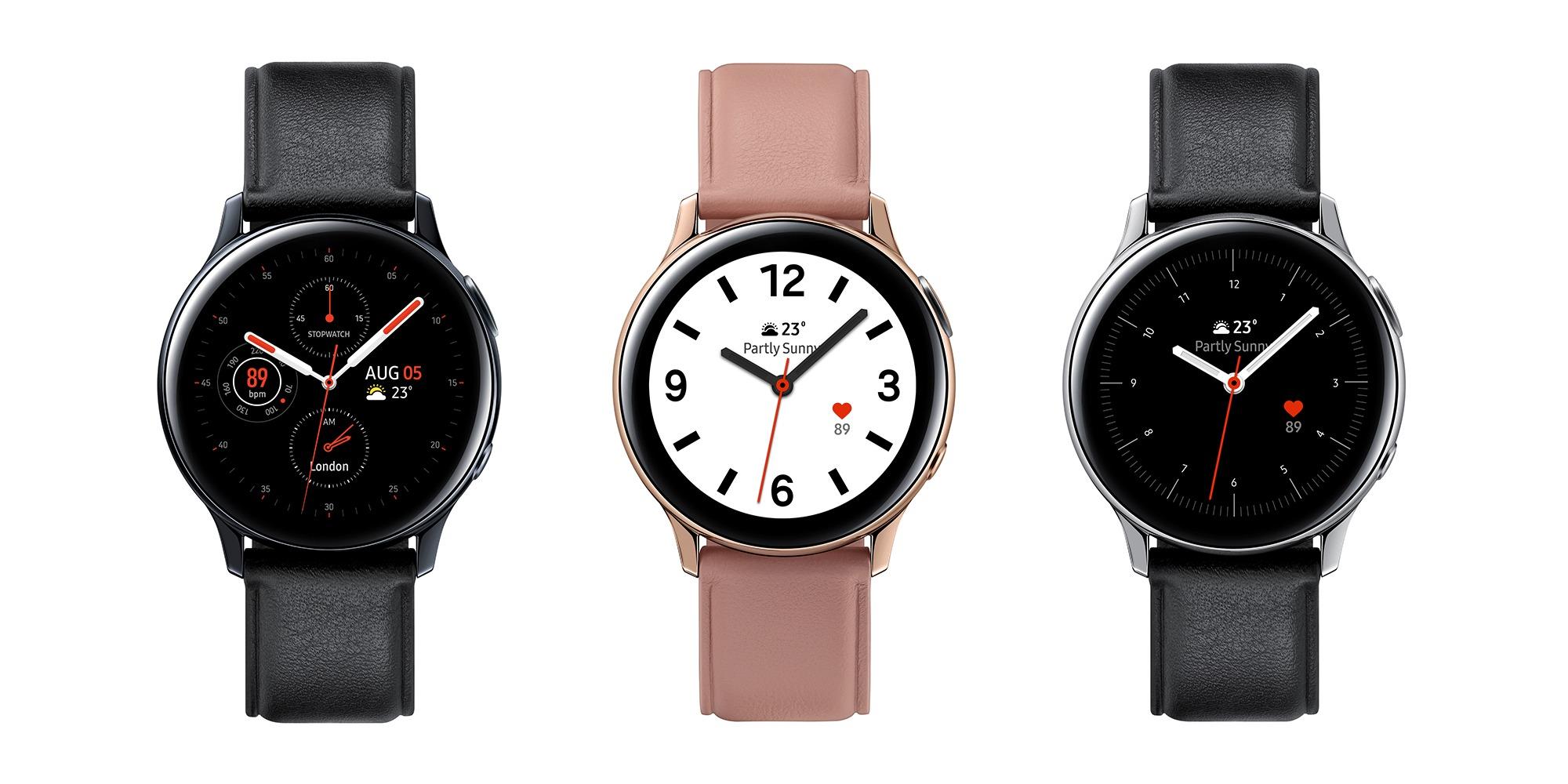 Представлены смарт-часы Galaxy Watch Active2