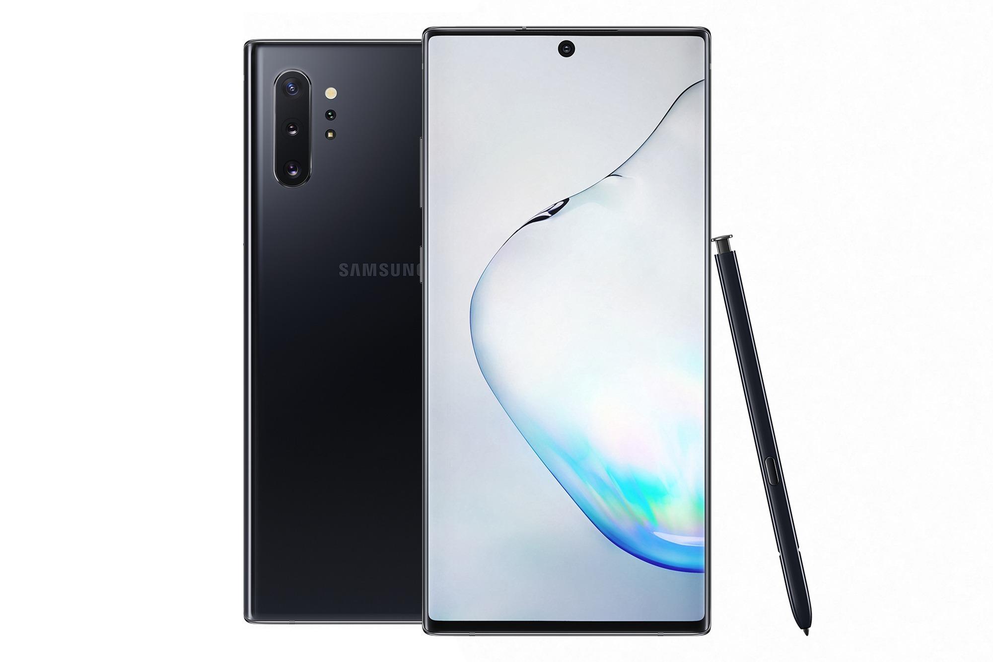 Samsung представила Galaxy Note10 и Note10+
