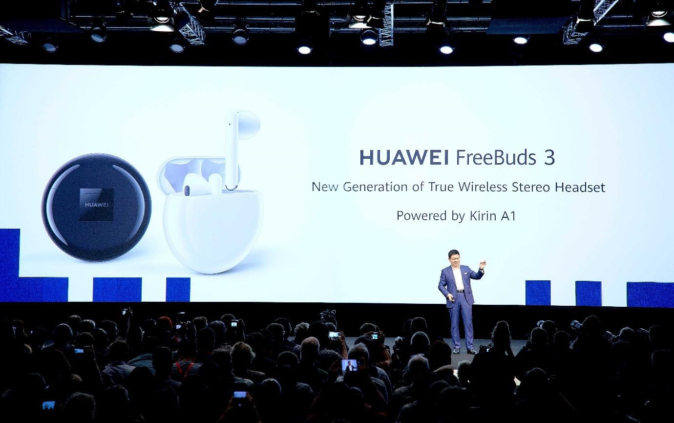 На IFA представлены наушники HUAWEI FreeBuds 3
