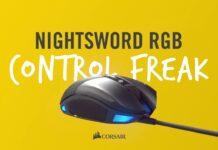 Обзор игровой мыши Corsair Nightsword RGB