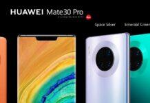 Представлены смартфоны серии HUAWEI Mate 30