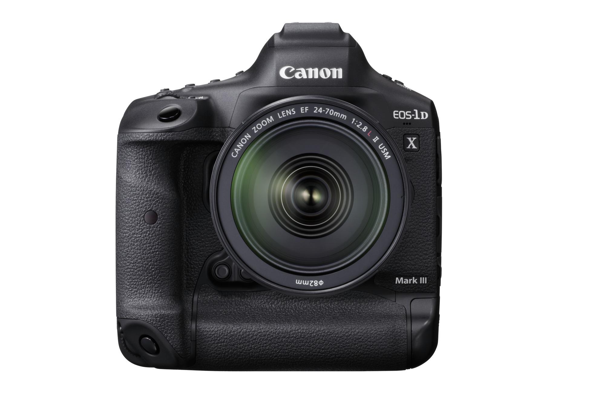 Canon анонсировала разработку камеры EOS-1D X Mark III