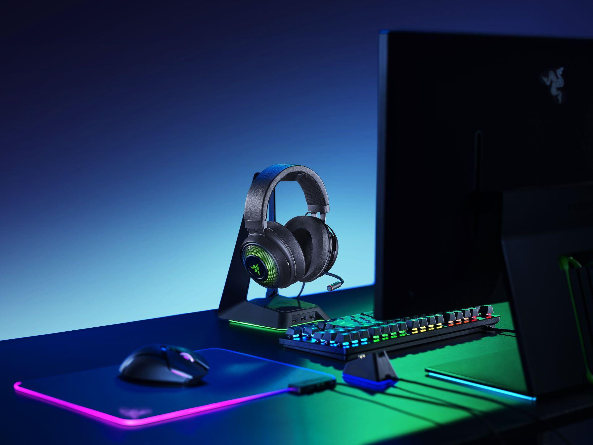 Анонсирована гарнитура Razer Kraken Ultimate с THX Spatial Audio