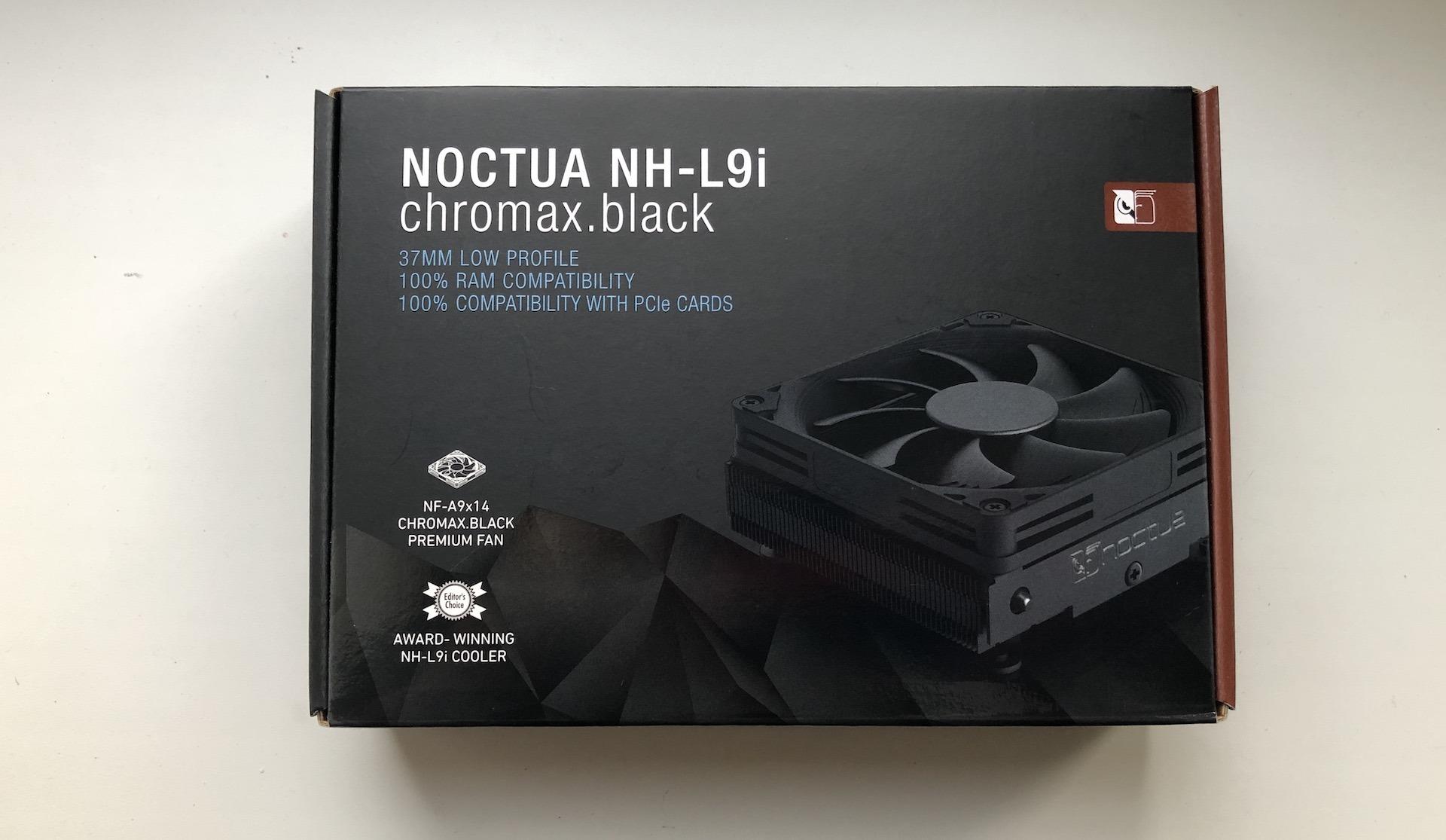 Обзор и тестирование кулера Noctua NH-L9i chromax.black
