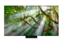 Samsung представляет новые телевизоры QLED 8K