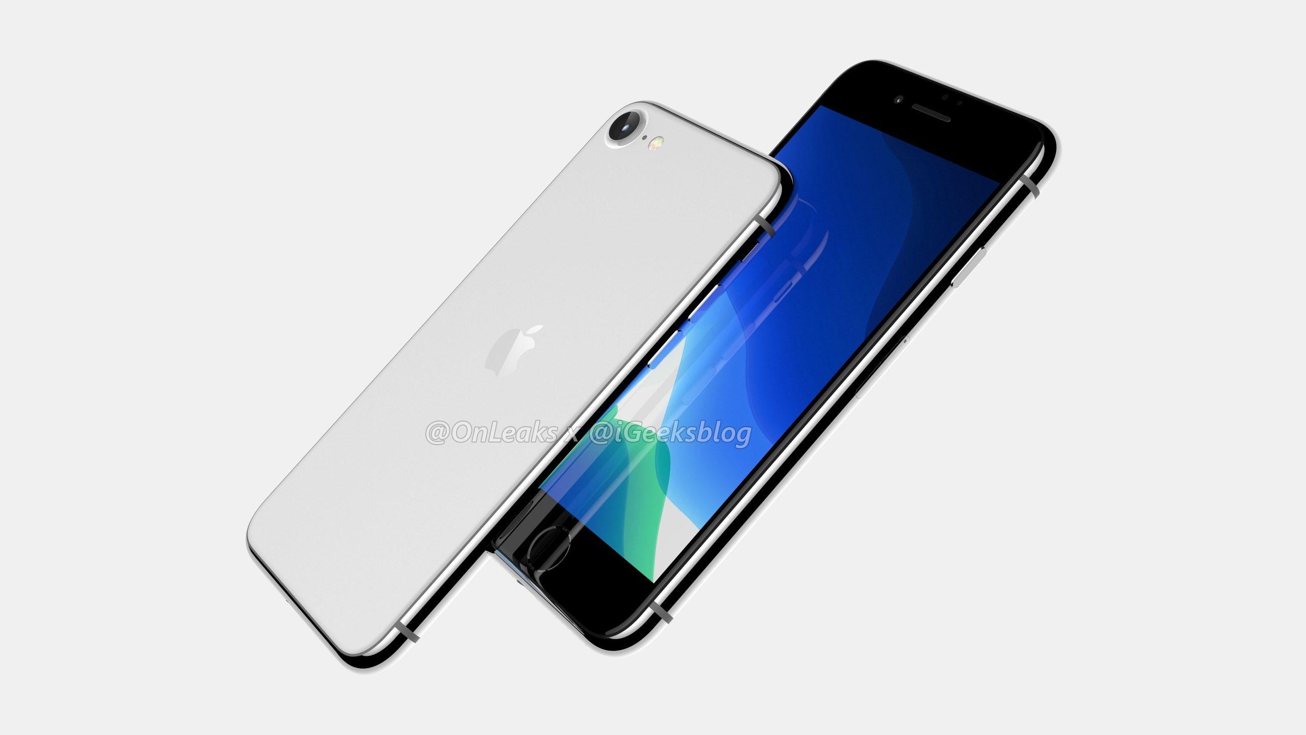 iPhone 9 не будет выглядеть как iPhone SE