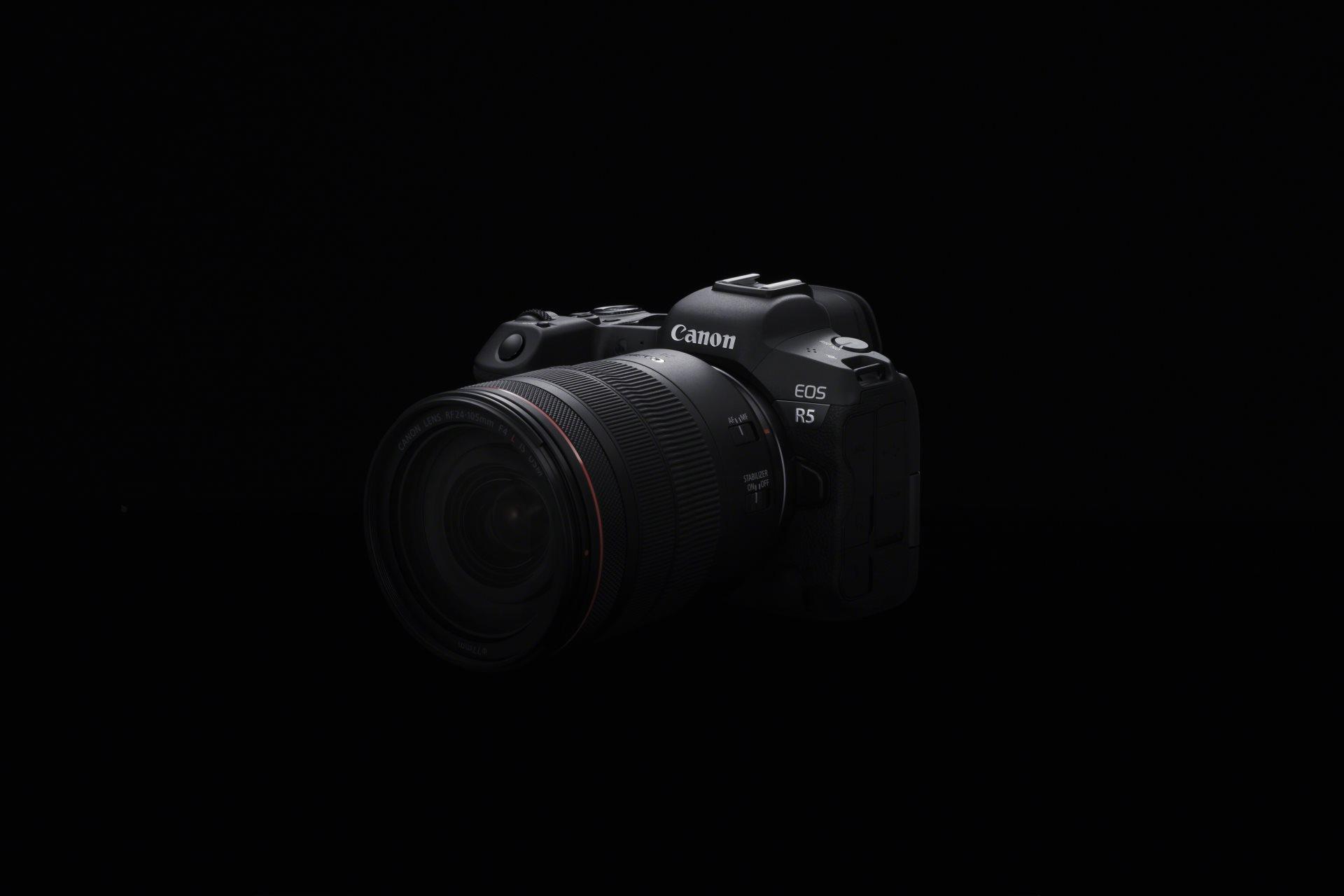Canon объявила о разработке беззеркалки EOSR5
