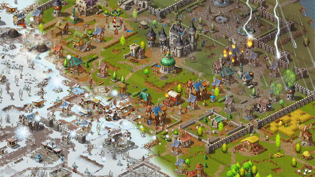Обзор Townsmen - A Kingdom Rebuilt