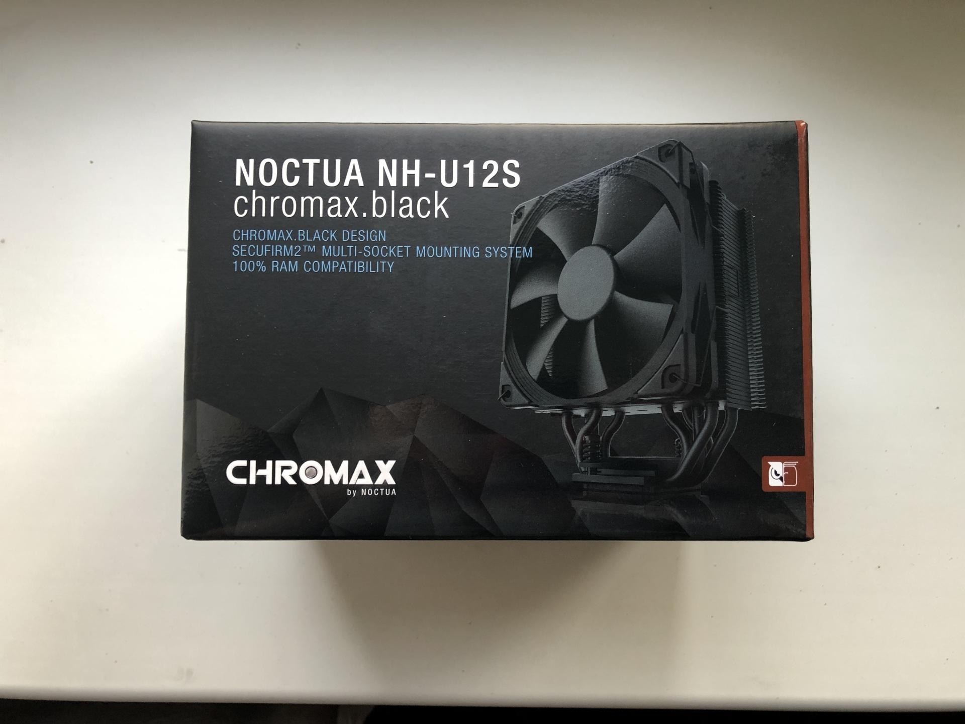 Обзор Noctua NH-U12S chromax.black