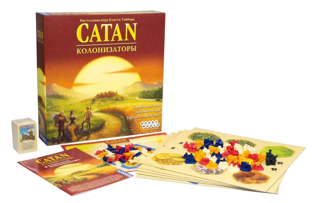 Catan (Колонизаторы) - современные настольные игры