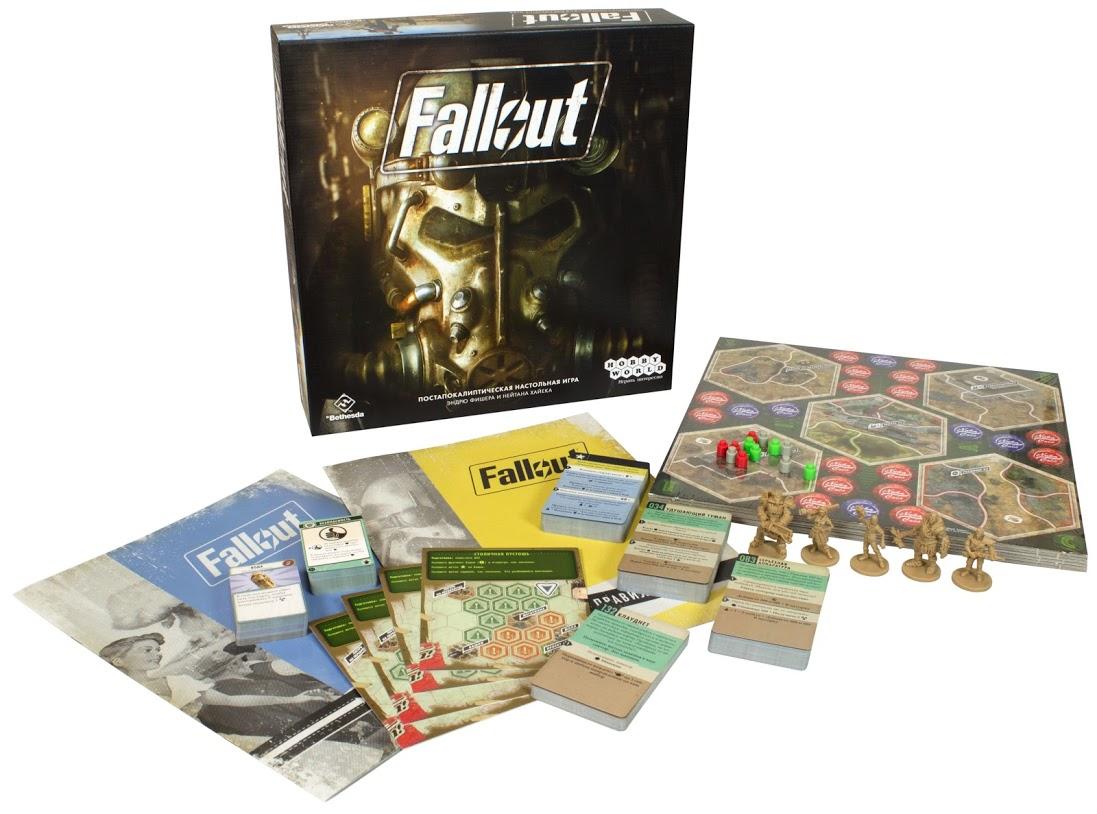 Fallout - современные настольные игры