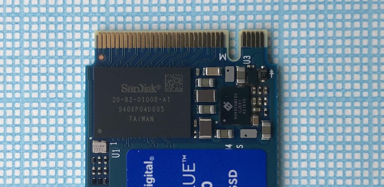 Обзор и тестирование WD Blue SN550 250GB (WDS250G2B0C)