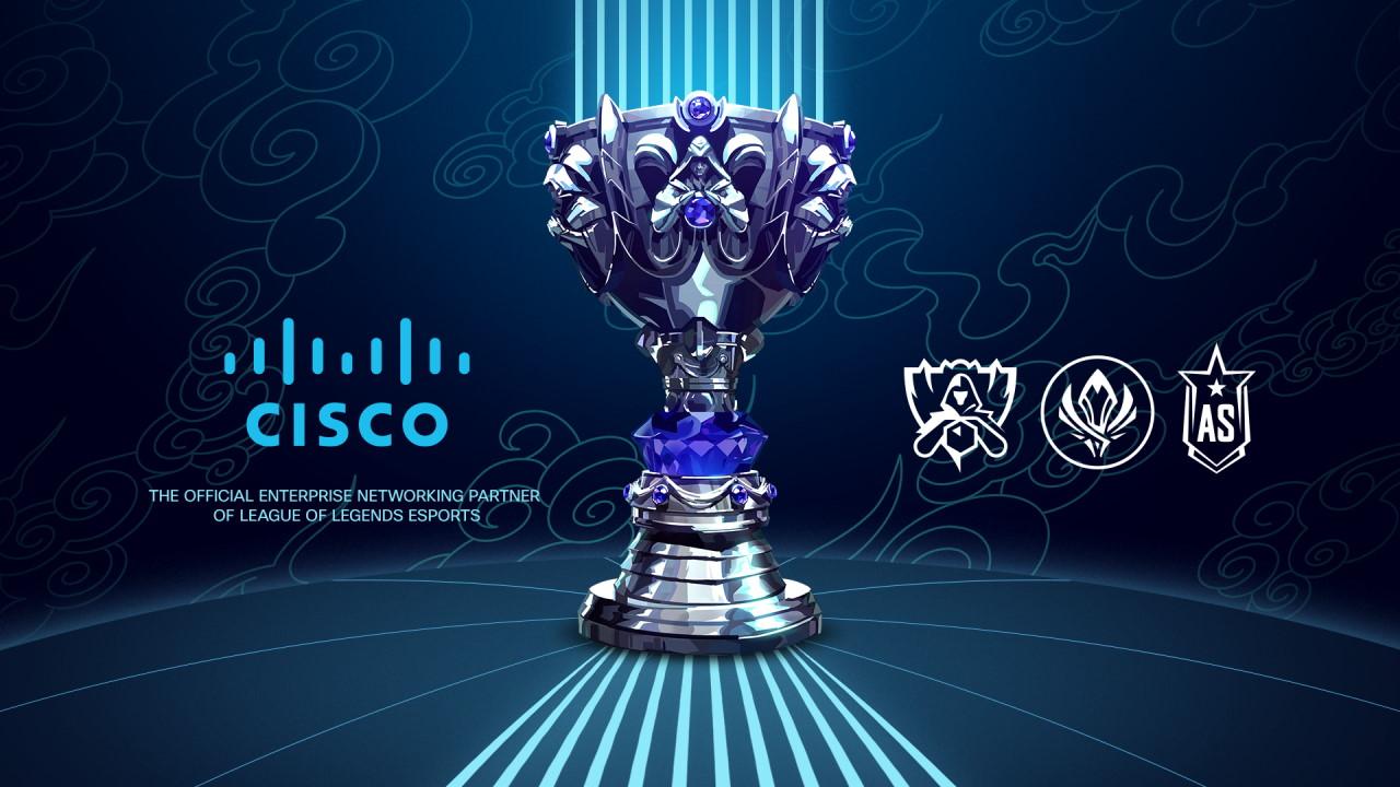 Cisco стала партнером киберспортивного отделения Riot Games