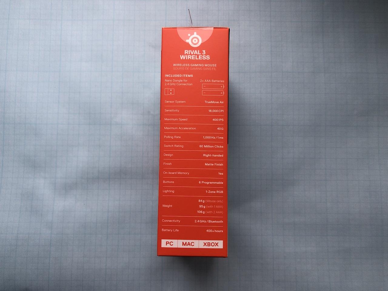 Обзор игровой мыши SteelSeries Rival 3 Wireless