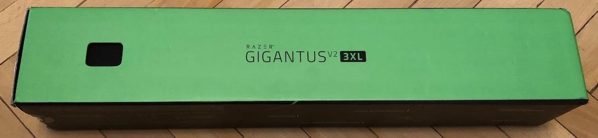 Обзор ковра Razer Gigantus V2 3XL